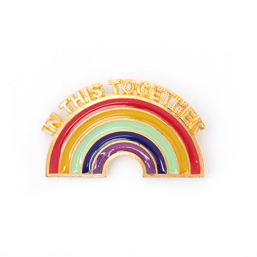RELIEF RAINBOW PIN