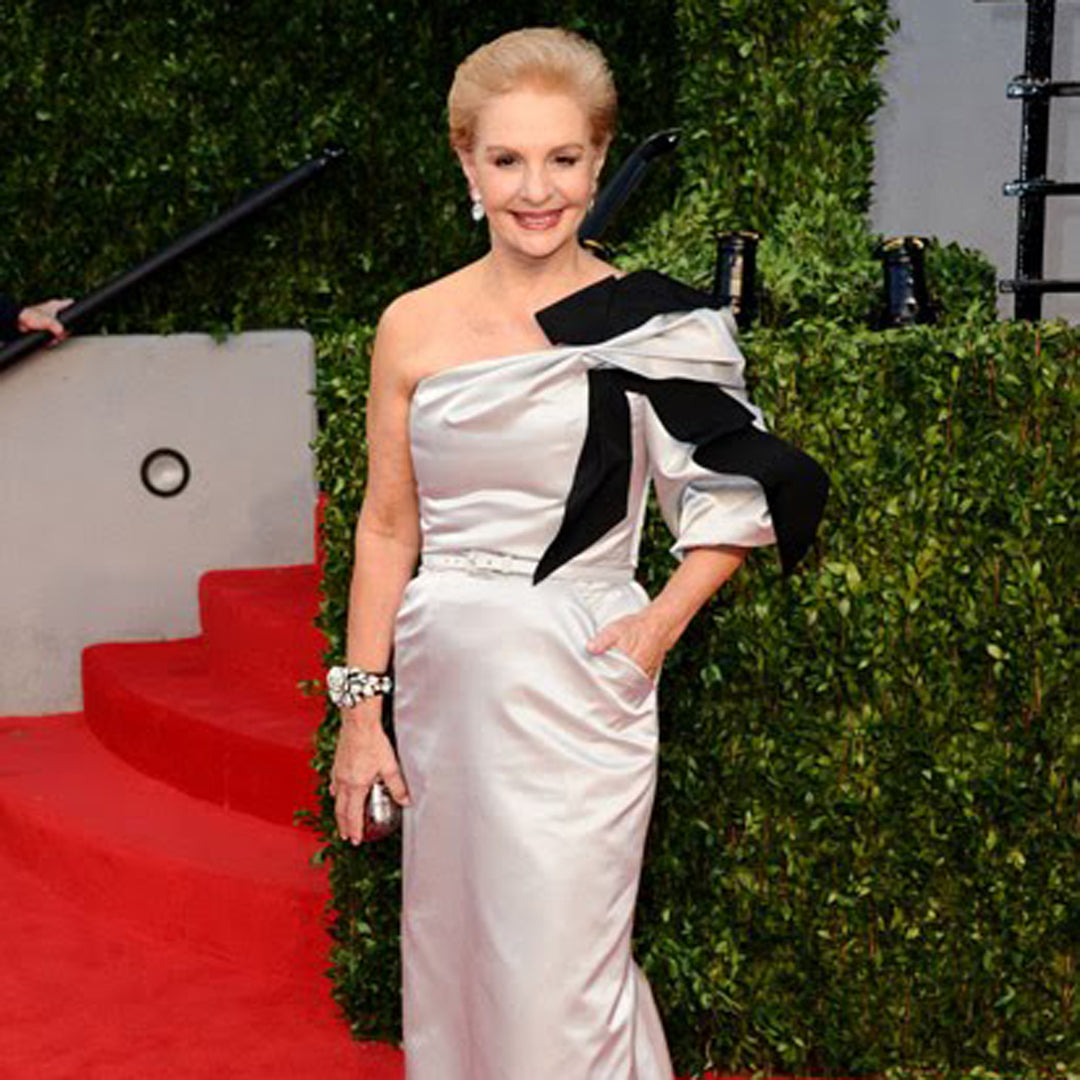 Carolina Herrera in the Pavé Rose Bracelet