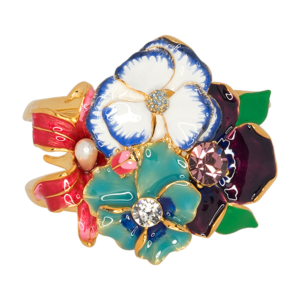 Redbook/May 2017 -  Garden Multi Flower Cuff