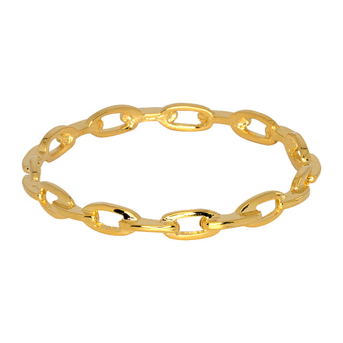 Porter/ Winter 2017 - Polished Gold Link Bangle