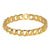 Polished Gold Link Bangle