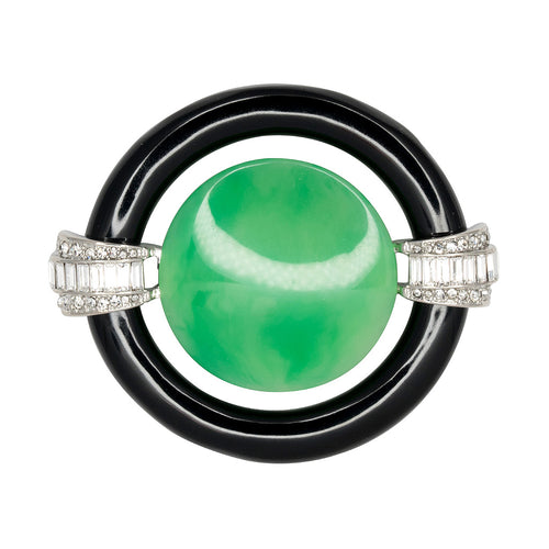 Jade Center Deco Pin