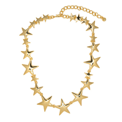 Porter Magazine/Winter 2017-Gold Star Necklace