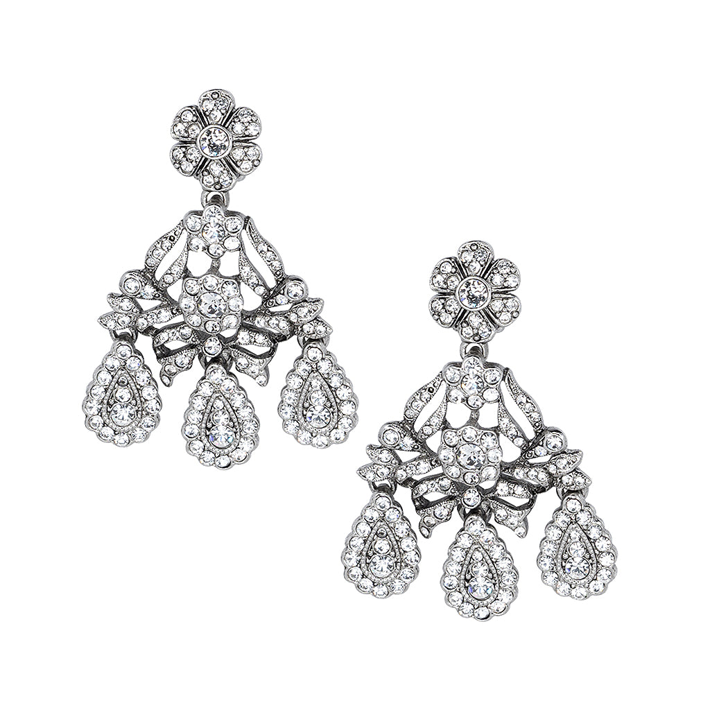 crystal earring collections drop earrings kennethjaylane headlight antique black com products silver clip and