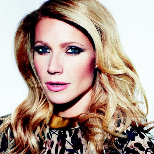 Gwyneth Paltrow in the Satin Gold Collar Hinged Necklace