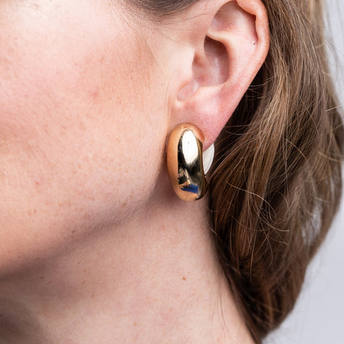 Half Hoop Clip Earrings
