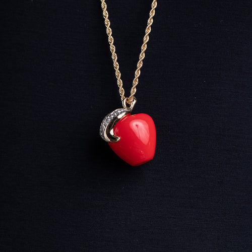 Red Apple Pendant