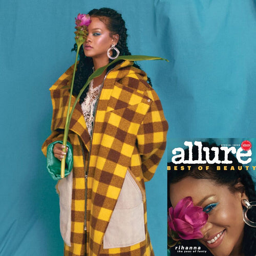 Allure/October 2018 - Clear Doorknocker Clip Earrings