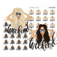 Weekend planner stickers - friyay - The Planner's World