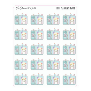 Barnyards and butterflies mini planner Stickers - The Planner's World