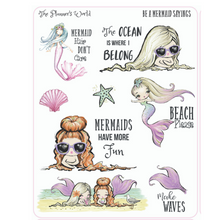 Be a Mermaid Sayings Planner Stickers - The Planner's World