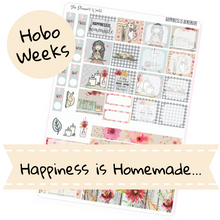 Hobonichi Weeks weekly kit / Happiness is Homemade Sticker kit / Thanksgiving Hobonichi Weeks Kit - The Planner's World