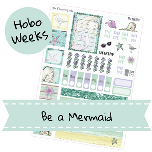 Be a Mermaid Hobonichi Weeks Kit - The Planner's World