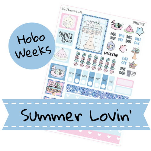 Summer Lovin' Hobonichi Weeks Kit - The Planner's World
