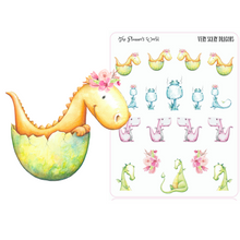 scary dragon planner stickers - The Planner's World