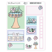 Birdbath Days Micro Kit Planner Stickers - The Planner's World