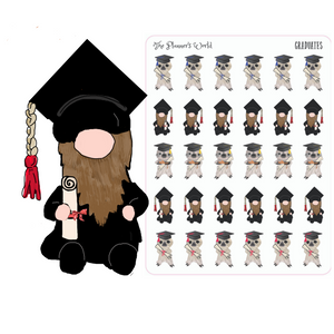 The Graduates graduation planner stickers
