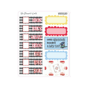Wonderland Micro Kit Planner Stickers - The Planner's World