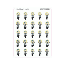 Motorcycle Ride Planner Stickers - The Planner's World