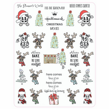 Here Comes Santa Christmas Holiday Planner Stickers