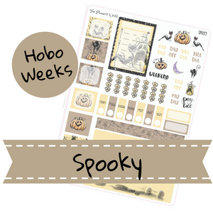 Spooky Hobonichi Weeks Kit - The Planner's World