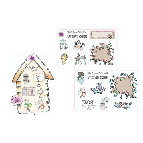 Sticker Samplers by The Planner's World - The Planner's World