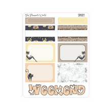 Tis the Season to be Spooky Micro Kit Planner Stickers - The Planner's World