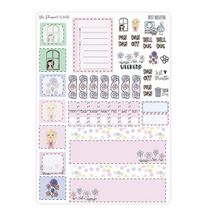 Hobonichi Weekly Planner Sticker Kit - Just Breathe - The Planner's World