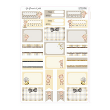 Little Cows weekly vertical Sticker Kit - The Planner's World