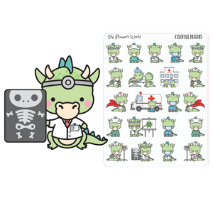 Essential Dragon Planner Stickers