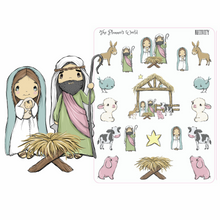 Nativity  planner stickers