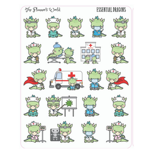 Essential Dragon Planner Stickers - The Planner's World