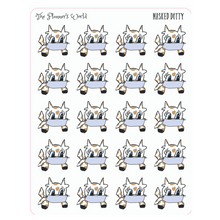 Masked Dotty the Cow planner stickers - The Planner's World