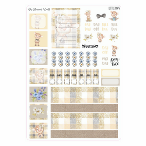 Little Cows Hobonich Weeks Kit - The Planner's World