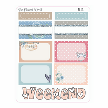 Paris Micro Kit Planner Stickers