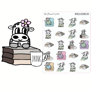 Book Love Reading Planner Stickers - Moobells