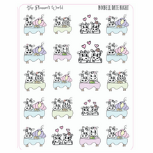 Moobell Date Night planner stickers