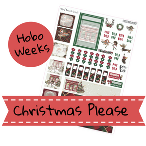 Christmas Please  Hobonichi Weeks Kit