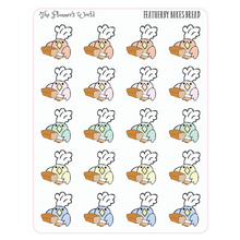 Featherby Baking Bread Planner Stickers - The Planner's World