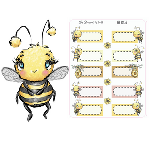 Bee Boxes Planner Stickers - The Planner's World