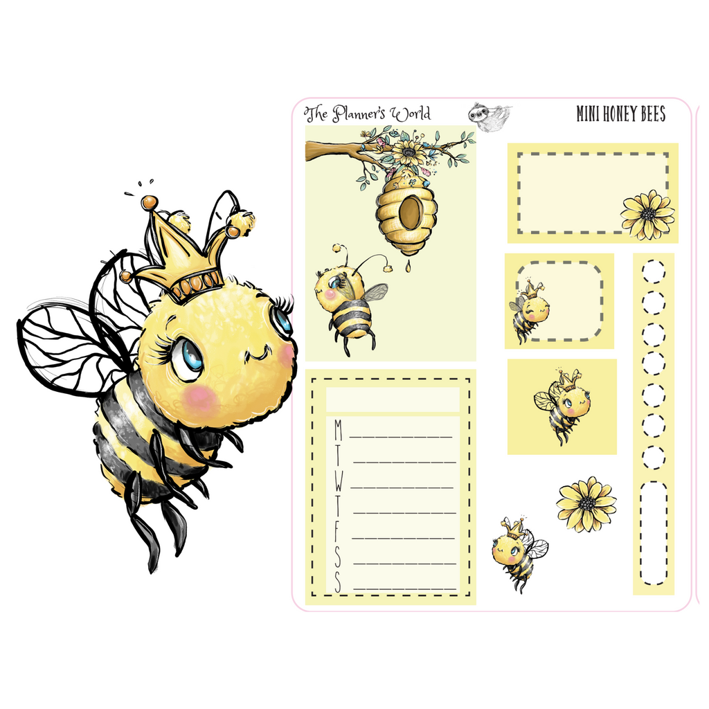 Honey Bee Micro Kit - The Planner's World