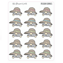Peekaboo Planner Stickers - Gnome