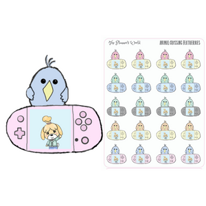 Featherbie Gamer Planner Stickers - The Planner's World