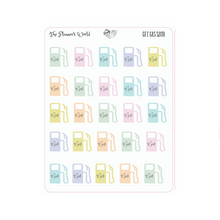 Get Gas Car Planner Stickers - The Planner's World