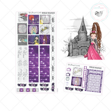 Hobonichi Planner Stickers - Moonlight Masquerade Hobonichi Weekly Sticker kit - hobo weeks - stickers - The Planner's World
