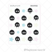 Stars and Soot Balls Sampler Planner Stickers - The Planner's World
