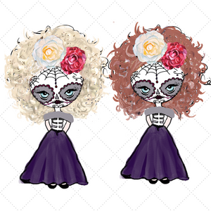 Day of the Dead Girl Die Cuts - The Planner's World