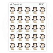 Book Love planner stickers - planner girl stickers - The Planner's World