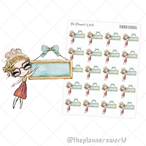 Teacher Planner Stickers - The Planner's World
