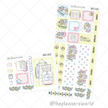 Make a Wish  Hobonichi Weeks Weekly Sticker Kit - The Planner's World